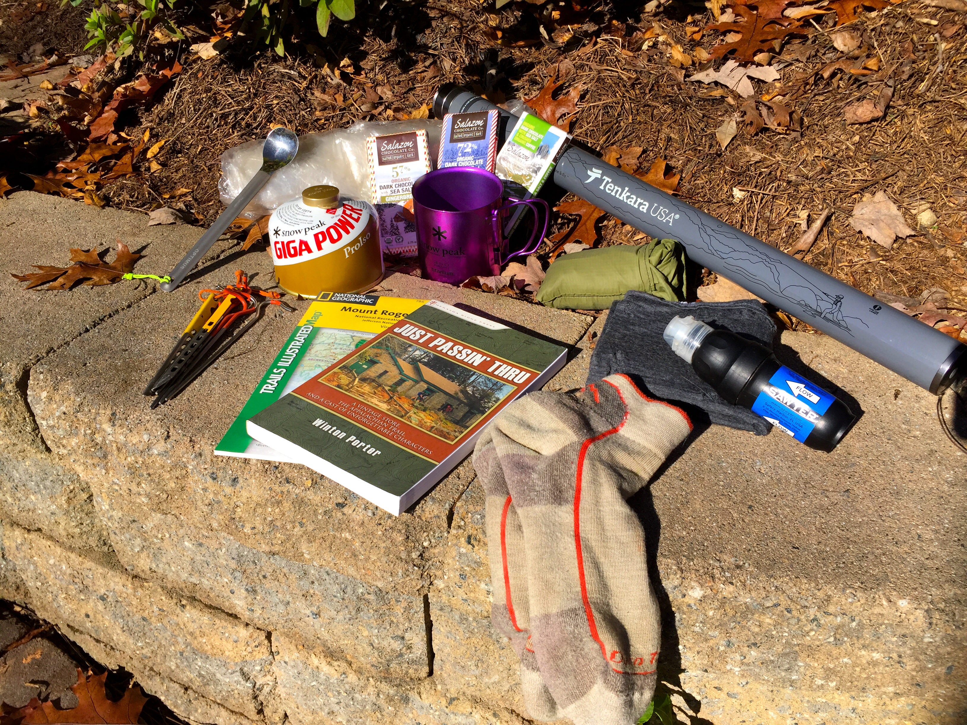 Holiday gift ideas for the backpackers